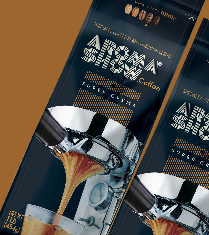 Embalagem café Aroma Show