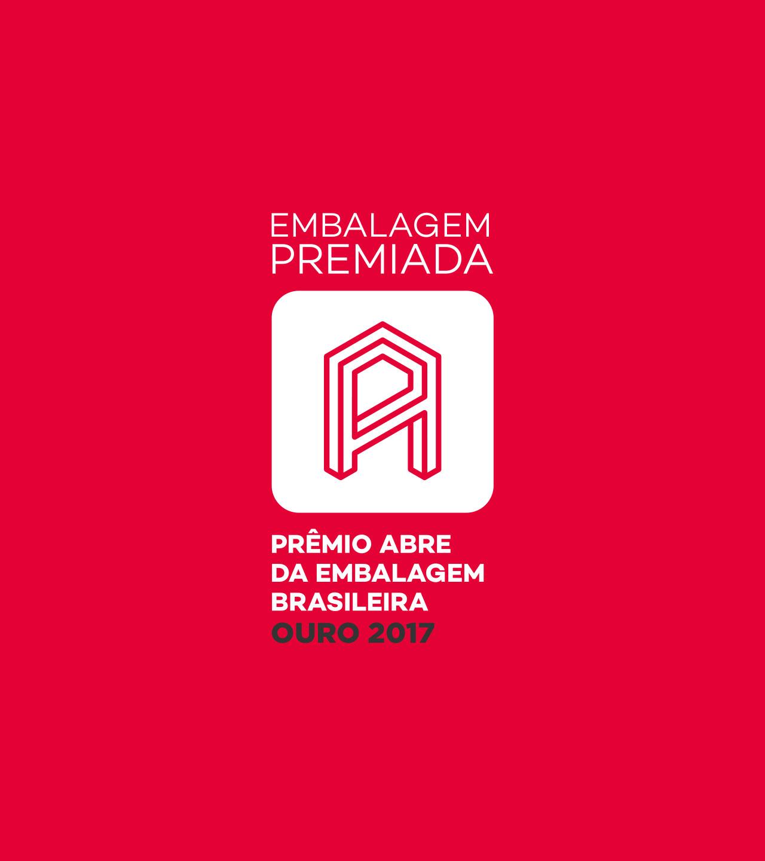 Embalagem premiada - Ouro 2017 - Prêmio ABRE