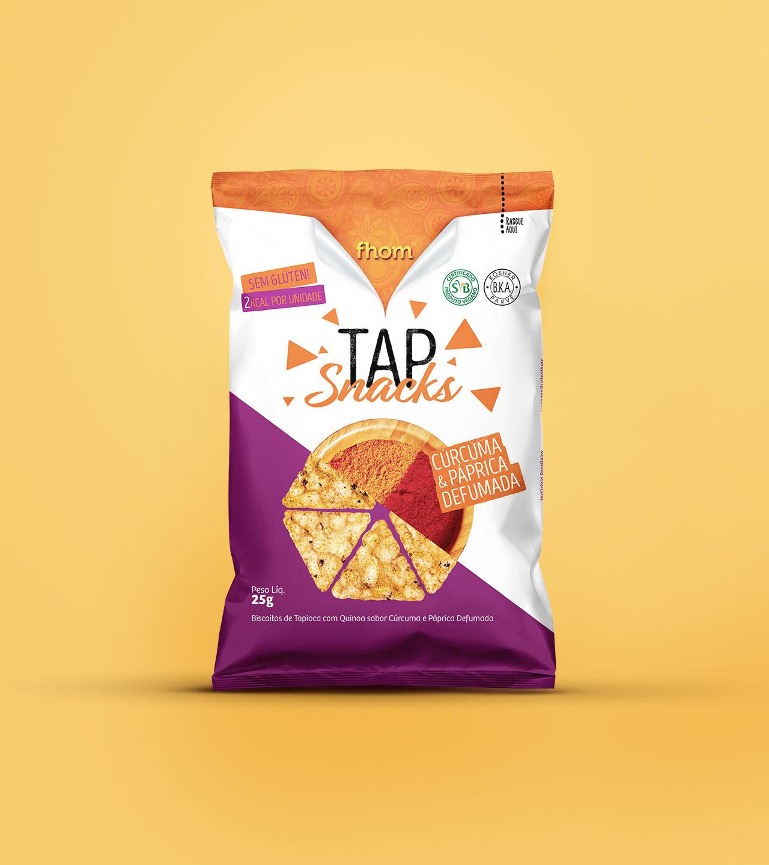 Embalagem Tap Snacks Fhom