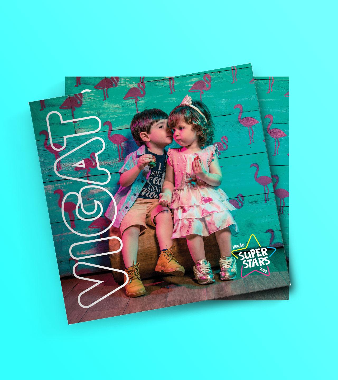 Catálogo Ensaio fotográfico com crianças - Vigat